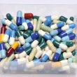 Stock Photo: Pills and capsules