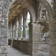 Stock Photo: Monastery cloister interior
