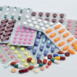 Stock Photo: Pills and capsules in blister
