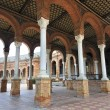 Spain Square in Seville — Stock Photo #38499673