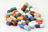 Colorful capsules — Stock Photo
