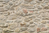 Old granite wall restored — Stock Photo