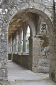Monastery cloister interior — Stock Photo