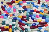 Pills and capsules — Stock Photo