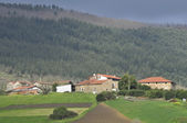 View of rural villages — Stock Photo