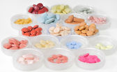 Pills, capsules and tablets — Stock Photo