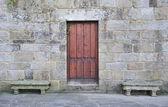 Wooden doors — Foto Stock