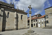 Old town of Pontevedra — Stock Photo
