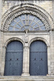 Cathedral portico entrance — Foto Stock