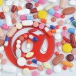 Pills with email symbol — Stock Photo #38500577