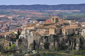 View of old town of Cuenca monumental — Stock Photo