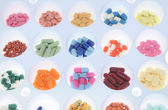 Pills, capsules and tablets — 图库照片