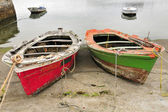 Couple of boats in port — Stock Photo