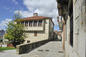 Old town of Pontevedra — Stock Photo