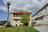 Old town of Pontevedra — Stockfoto