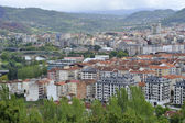 The largest city in Galicia — Stock Photo