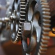 Foto Stock: Iron machinery