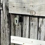 Very old wooden door — Stock Photo
