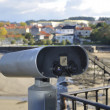Stock Photo: Telescope viewpoint