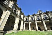 Monastery cloister outdoor — Stock Photo