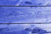 Texture blue old wooden pine surface — Stock Photo
