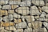 Background granite retaining wall — Stock Photo