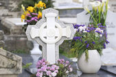 Old Christian cemetery — Stock Photo