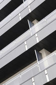 Exterior detail of modern architecture — Stock Photo