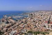 Vue aérienne de la ville de château — Foto de Stock