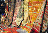African and persian carpets — 图库照片
