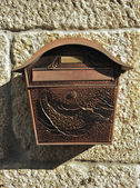 Old mail box — Stock Photo