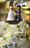 Weddin cake — Stock Photo