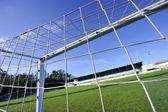 Football goal — Stock Photo