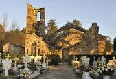 Cambados monumental Cemetery — Foto Stock