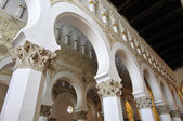 Toledo Mudejar church of Santa Maria la Blanca — Stock Photo