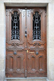 Wooden doors — Stockfoto