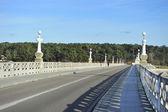 Bridge leading to the island — Stock Photo