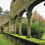 Baroque ruins monastery — Stock Photo #44586335