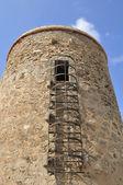 Ancient don garcia tower surveillance — Stock Photo
