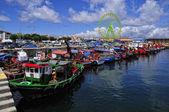 Fishing Harbor , Pontevedra — Stock Photo