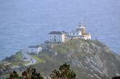 Famous Finisterre lighthouse — Stok fotoğraf