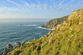 Cliff Galician coast — Stock Photo