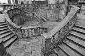 Staircase of San Martino Pinario church — Stock Photo