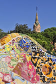 Park Guell closeup — Photo
