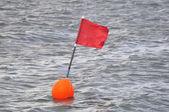 Signaling buoy — Stockfoto