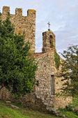 Torre ovest in catoira — Foto Stock
