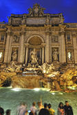 Fountain the Trevi Fountain (Italy) — Stock fotografie