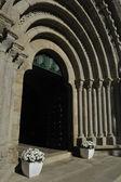 Cistercian portico — Stock fotografie