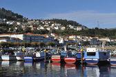 Port et village de corcubion — Photo
