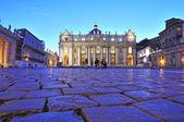 Main facade of the Basilica of Saint Peter's — Stock Photo